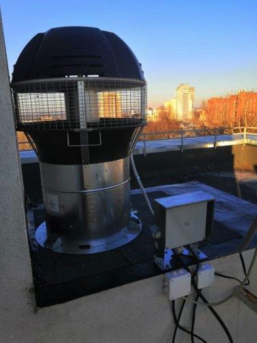 Жилой дом в Нижним Новгороде на фото гибридный вентилятор 1